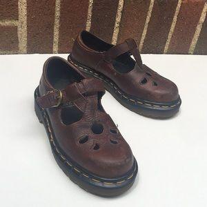 Mary Jane Leather Vintage Dr. Martens Size 1